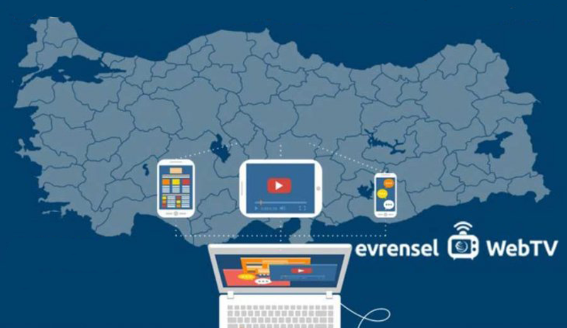 Seçim ekranı alternatifinde Evrensel Web TV de var