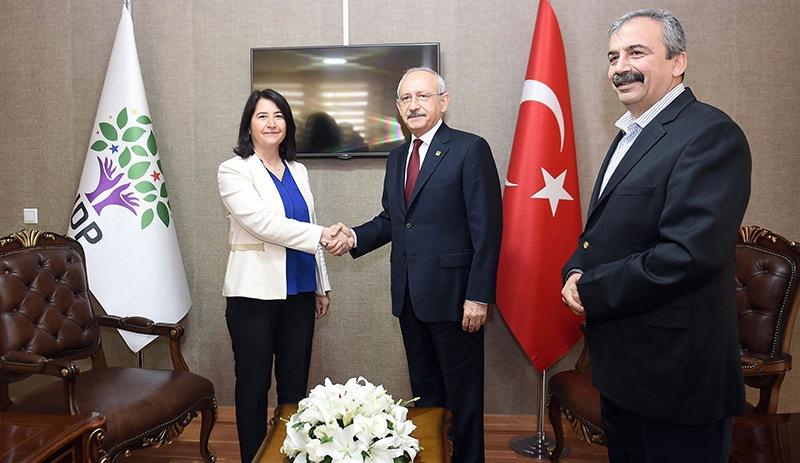 CHP Lideri Kemal Kılıçdaroğlu ilk kez HDP Genel Merkezi'nde