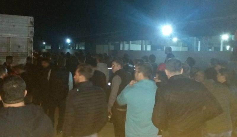 Çiftlik Bank mağdurları tesisi bastı
