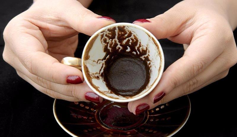Гадание на кофейной гуще обозначение молния
