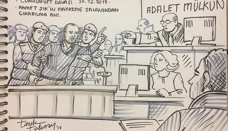 Ahmet şıkın Mahkeme Başkanını Kızdıran Sözleri Artı Gerçek