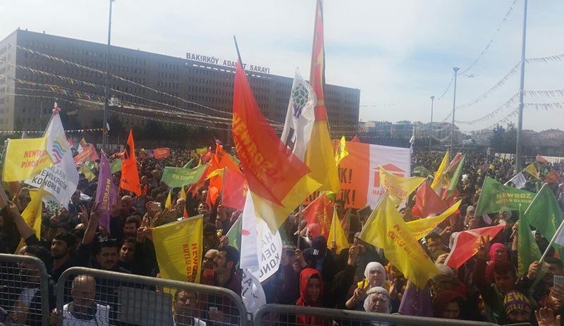 İstanbul Newroz'unda 70 civarında gözaltı