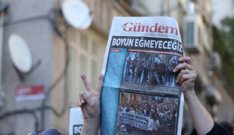 Özgür Gündem davasında 7 kişiye 15 yıl hapis cezası