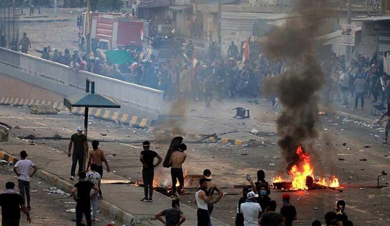 Irak'ta protestolar ülke geneline yayıldı