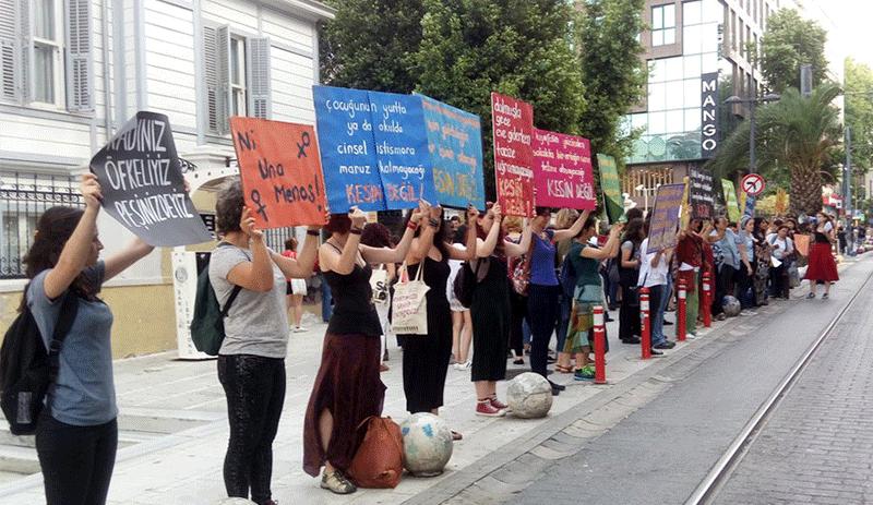 Kadınlar 1 Temmuz'da Adalet Yürüyüşü'nde