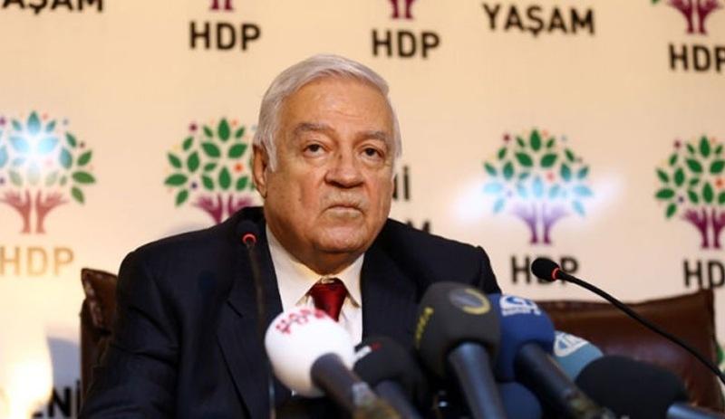HDP'li Dengir Mir Fırat hayatını kaybetti