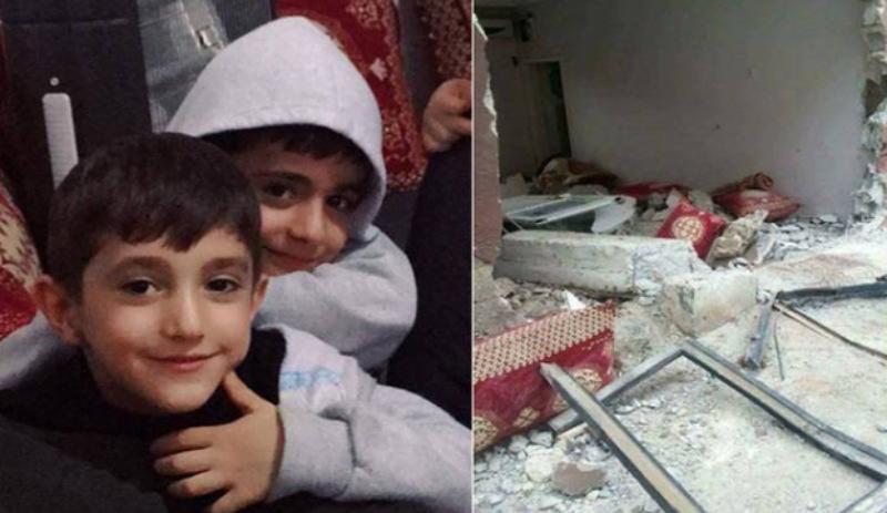'Sarhoş' polisler Akrep'le eve girdi 2 çocuk öldü